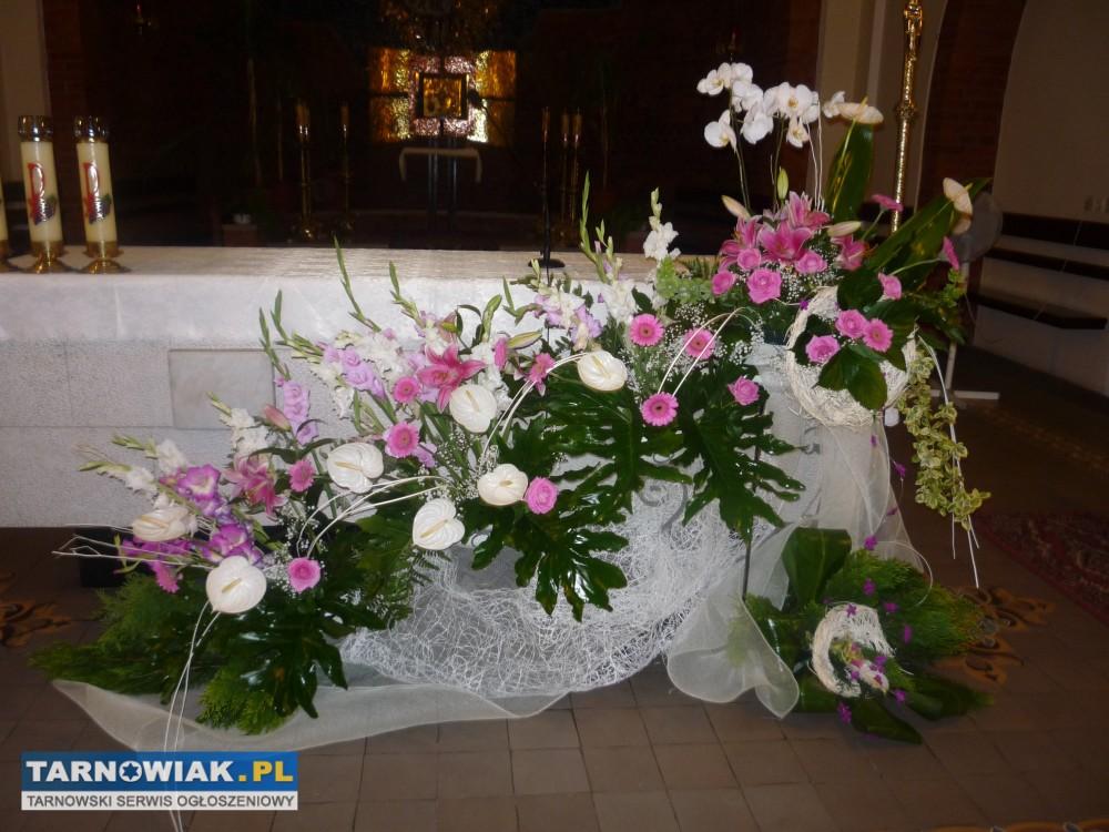 Dekoracje ślubne 641768 Wesela Usługi Tarnowiakpl