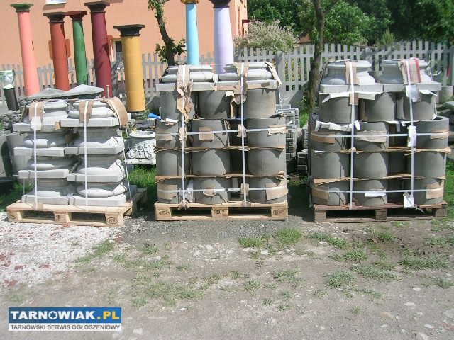 Ogromny Kolumny betonowe beczkowe #1192840   RÓŻNE » Sprzedam   TARNOWIAK KK49