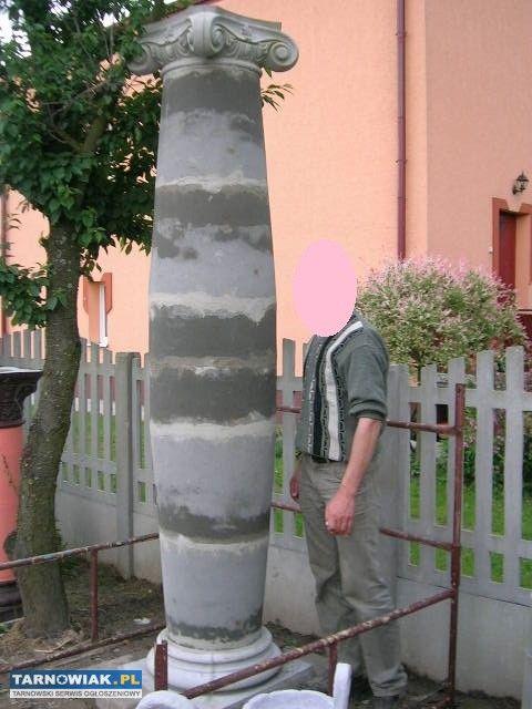 Super Kolumny betonowe beczkowe #1192840   RÓŻNE » Sprzedam   TARNOWIAK EA73